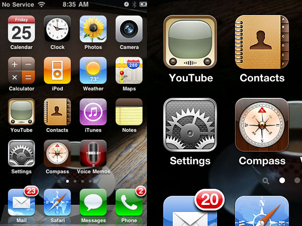 iPhone 4 Screen resolution